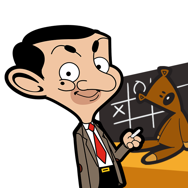 Mr Bean - Special Delivery messages sticker-6