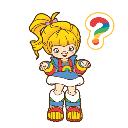 Rainbow Brite Stickers messages sticker-5