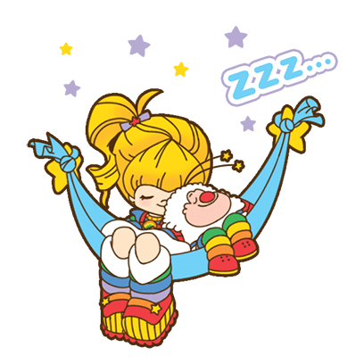 Rainbow Brite Stickers messages sticker-4