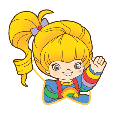 Rainbow Brite Stickers messages sticker-8