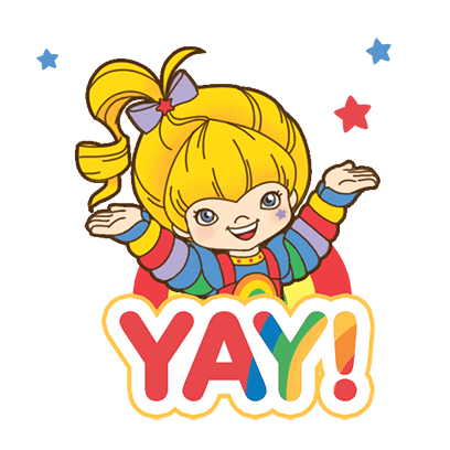 Rainbow Brite Stickers messages sticker-1