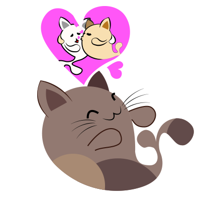 Chocolate cat emoji & sticker messages sticker-4