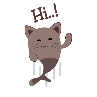 Chocolate cat emoji & sticker messages sticker-0