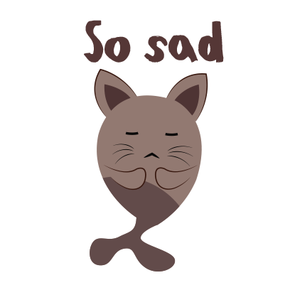 Chocolate cat emoji & sticker messages sticker-1