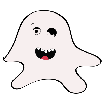 Ghost emoji and sticker messages sticker-11