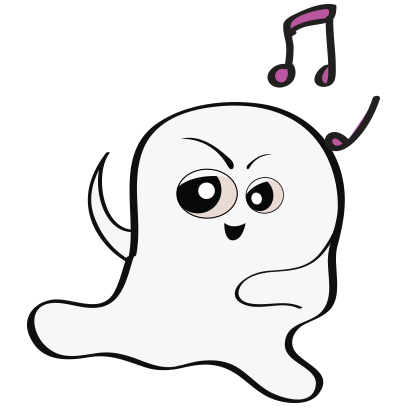 Ghost emoji and sticker messages sticker-1