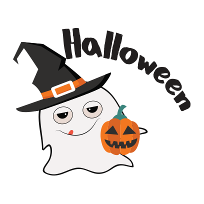 Ghost emoji and sticker messages sticker-0