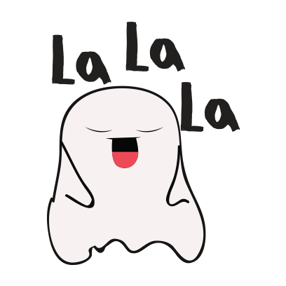 Ghost emoji and sticker messages sticker-3