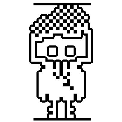 1-Bit Hero: Stress Relief Game messages sticker-7