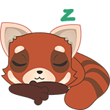 Fox Emoji Stickers messages sticker-11