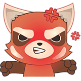Fox Emoji Stickers messages sticker-0