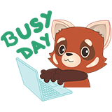 Fox Emoji Stickers messages sticker-4