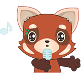 Fox Emoji Stickers messages sticker-10