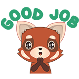 Fox Emoji Stickers messages sticker-7