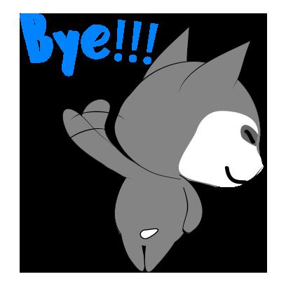 Husky dog emoji & sticker messages sticker-9