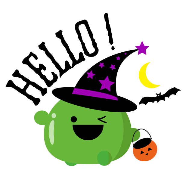 Mochi Halloween Stickers messages sticker-0