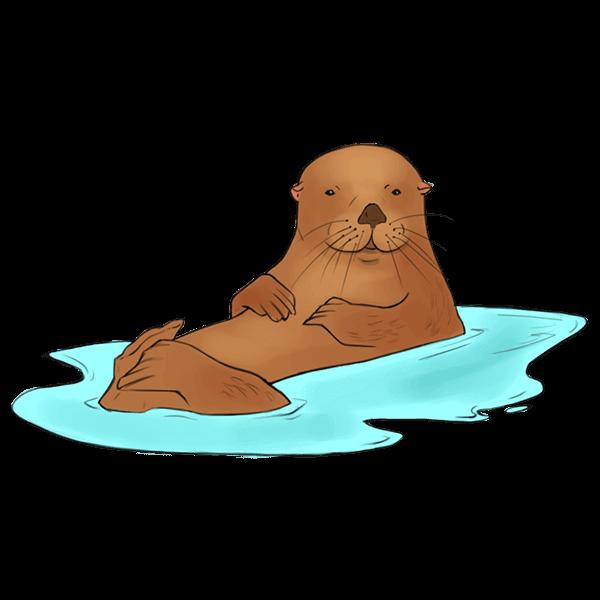 IFAWmojis Marine Mammals messages sticker-6