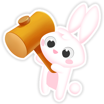 Greedy Bunnies messages sticker-7