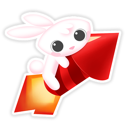 Greedy Bunnies messages sticker-1