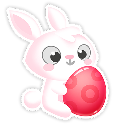 Greedy Bunnies messages sticker-11