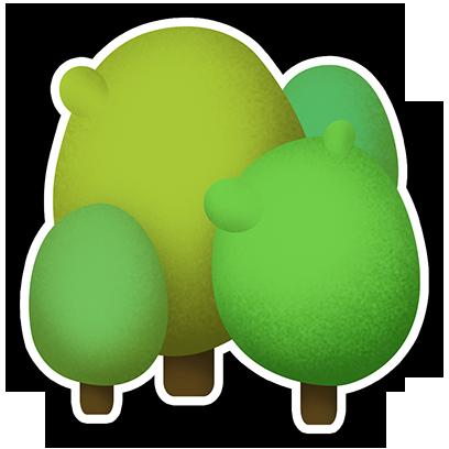 Greedy Bunnies messages sticker-1