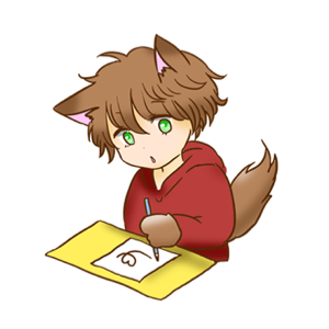 Kawaii Kemono Sticker messages sticker-2