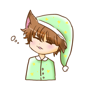 Kawaii Kemono Sticker messages sticker-4