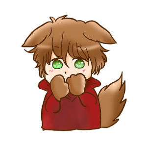 Kawaii Kemono Sticker messages sticker-11