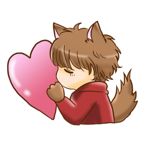 Kawaii Kemono Sticker messages sticker-3