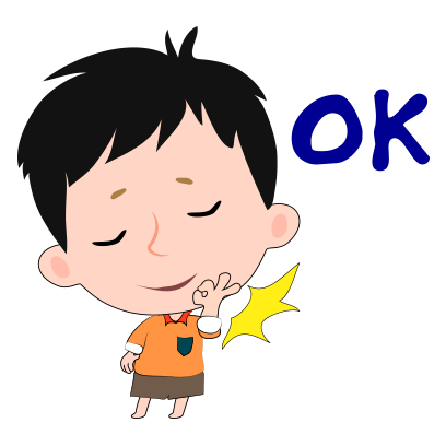 Little boy and girl stickers messages sticker-11