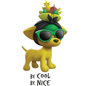 Be Cool Be Nice App messages sticker-1