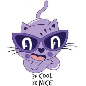 Be Cool Be Nice App messages sticker-11