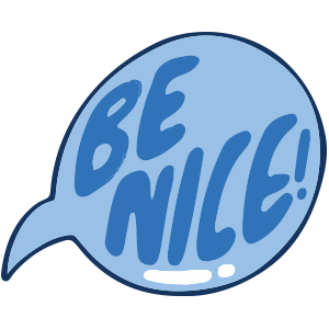 Be Cool Be Nice App messages sticker-10
