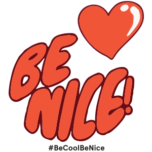 Be Cool Be Nice App messages sticker-6