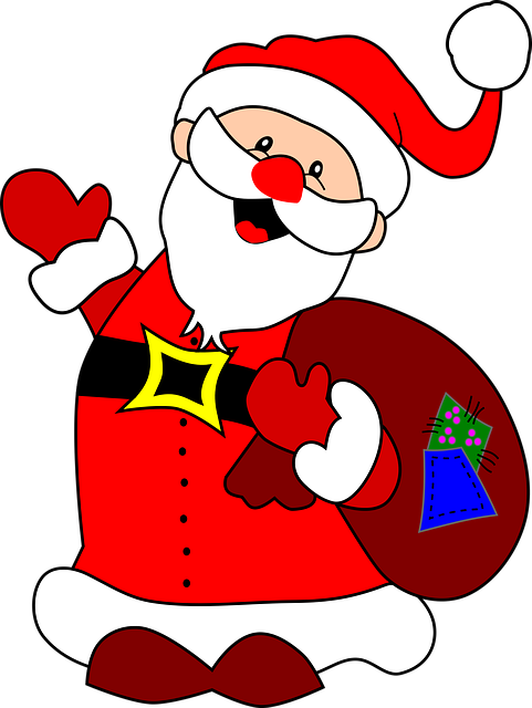 Santa Claus Stickers: HoHoHo messages sticker-4