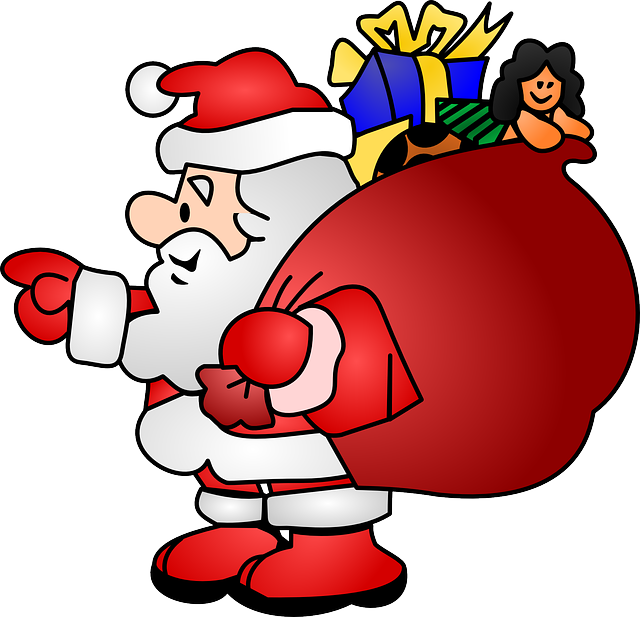 Santa Claus Stickers: HoHoHo messages sticker-2