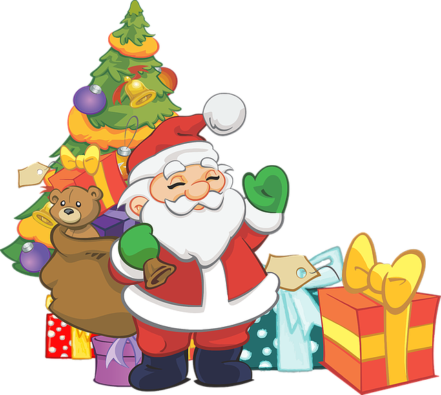 Santa Claus Stickers: HoHoHo messages sticker-0