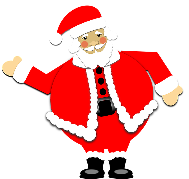 Santa Claus Stickers: HoHoHo messages sticker-3