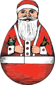 Santa Claus Stickers: HoHoHo messages sticker-8