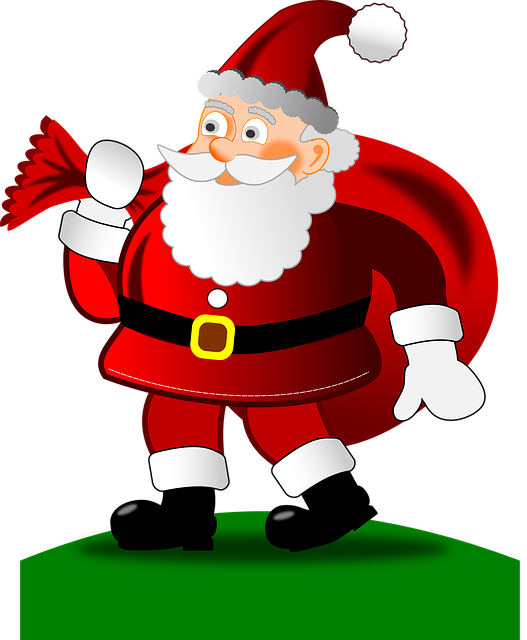 Santa Claus Stickers: HoHoHo messages sticker-5