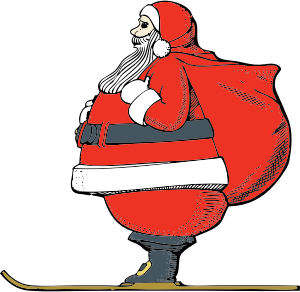 Santa Claus Stickers: HoHoHo messages sticker-11