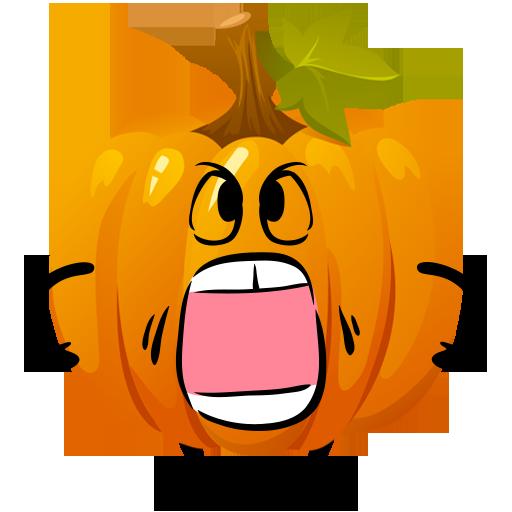 Fun Halloween Pumpkin Sticker messages sticker-4