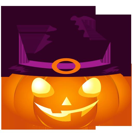 Fun Halloween Pumpkin Sticker messages sticker-9