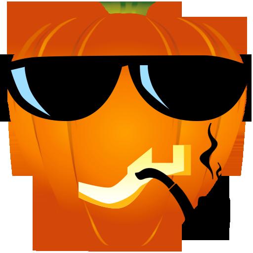Fun Halloween Pumpkin Sticker messages sticker-8