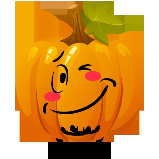 Fun Halloween Pumpkin Sticker messages sticker-5