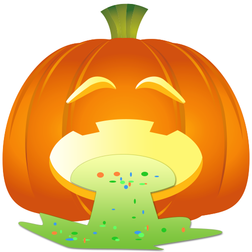 Fun Halloween Pumpkin Sticker messages sticker-11