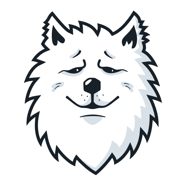 Samoyed Fram messages sticker-8