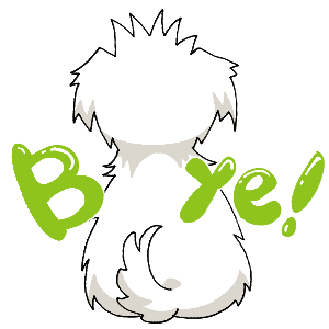 Maltese Dog Face messages sticker-1