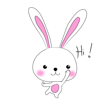 Cool rabbit sticker messages sticker-0