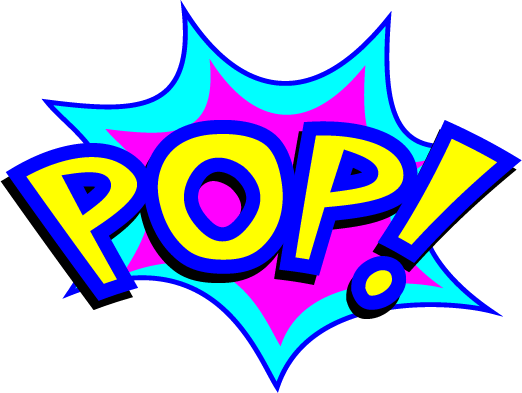 Cartoon Explosion Bubbles messages sticker-2